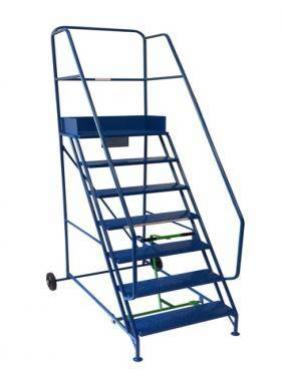 Mobile Safety Steps Warehouse Ladders