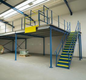 Mezzanine Flooring Warehouse Ladders
