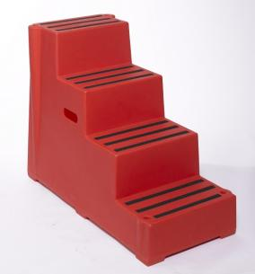 Plastic Steps  Warehouse Ladders