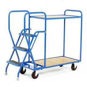 Step Trollies  Warehouse Ladders