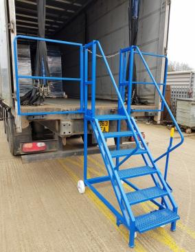 Bespoke Special Steps  Warehouse Ladders