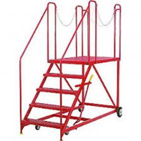 Mobile Work Platforms Warehouse Ladders