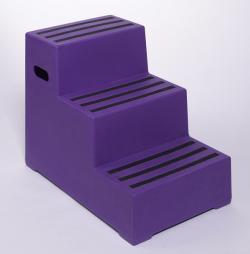 Premium Plastic Steps - 440x795x620 - RW0103 Warehouse Ladder