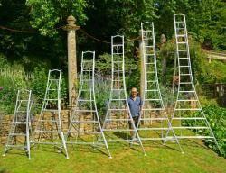 Henchman Tripod Garden Ladder - 3 Adjustable Legs