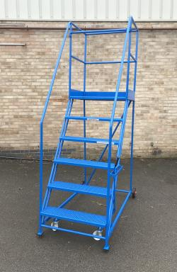 TekA Step Extra Wide Heavy Duty Mobile Safety Steps