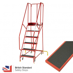 Premier Commercial Warehouse Steps - British Standard - Anti Slip Treads