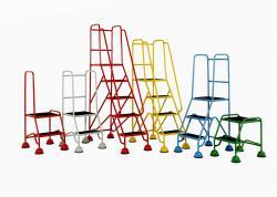 Mobile Safety Steps - Classic Plus Colour Range