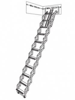 Concertina Loft Ladder