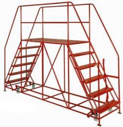 TekA Step Double Ended Access Platform - 1676x92x2438 - TS3333/30/03