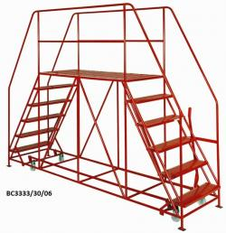 Double Ended Access Platform - 1676x92x2438 - BC3333/30/03