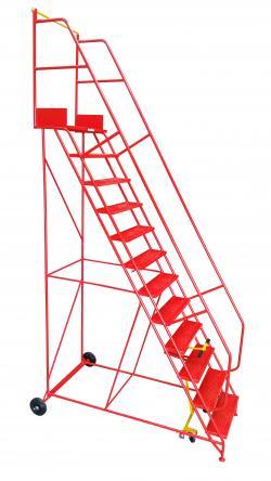 Industrial Warehouse Ladders - 300Kg Capacity Warehouse Ladder