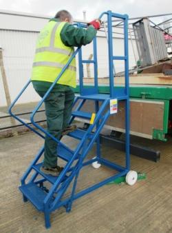 Hercules Lorry Access Steps