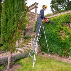 Henchman Tripod Garden Ladder - 1 Adjustable Leg