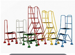 Mobile Safety Steps - Classic Plus Colour Range