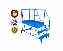 Heavy Duty Access Platform - 500kg - 1750x950x1960 - KAP03DM