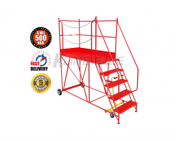 Heavy Duty Access Platform -Warehouse Step 500kg - 2250x995x2470 - KAP05DM