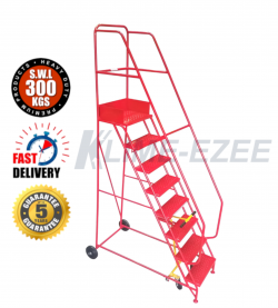 Industrial Warehouse Ladders - 300Kg Capacity Warehouse Ladder