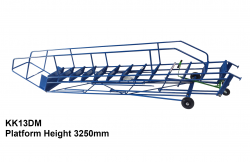 Industrial Warehouse Ladders - Fold Down Warehouse Ladder