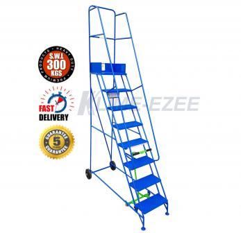 Klime-ezee Narrow Aisle Pro Warehouse Ladders Warehouse Ladder