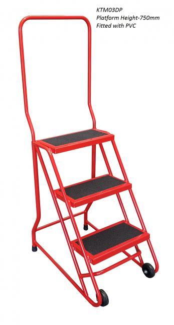 Klime-ezee Tilt and Move Office Steps - 300kg  Warehouse Ladder