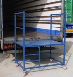 Lorry Access Mobile Unloading Platform