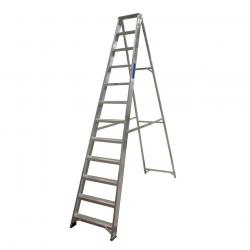 Lyte Industrial Aluminium Swingback Step Ladders