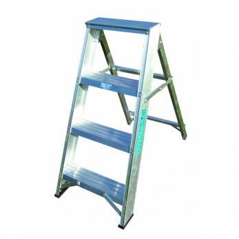 Lyte Industrial Aluminium Swingback Step Ladders  Warehouse Ladder