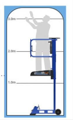 Pecolift Pedestrian Mobile Lift  Warehouse Ladder