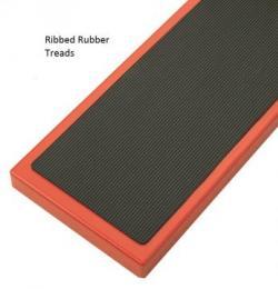 Steptek Narrow Aisle Steps - British Standard -Ribbed Rubber Treads Warehouse Ladder
