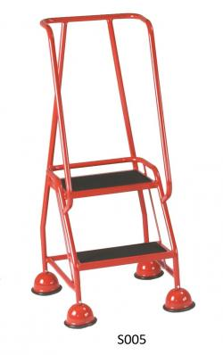 Steptek Classic Dome Feet Steps - 1185x580x540 - S006 Anti Slip Treads Warehouse Ladder