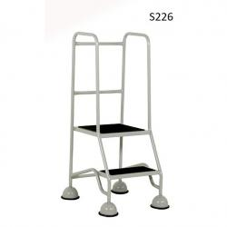 Warehouse Step Ladders - Classic Plus Colour Range - 1175x556x650 - S226 - Anti Slip Treads