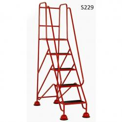 Warehouse Step Ladders - Classic Plus Colour Range - 1935x556x1225 - S229- Anti Slip Treads