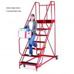 Steptek Easy Rise Warehouse Ladders - 2065x980x1400 - S611
