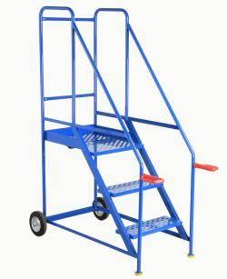 Tilt and Go Warehouse Ladders 2510x1250x1915 - S704