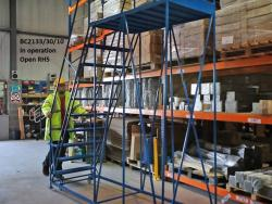 Single Ended Access Platforms - 2438x965x2438 - BC2133/30/6