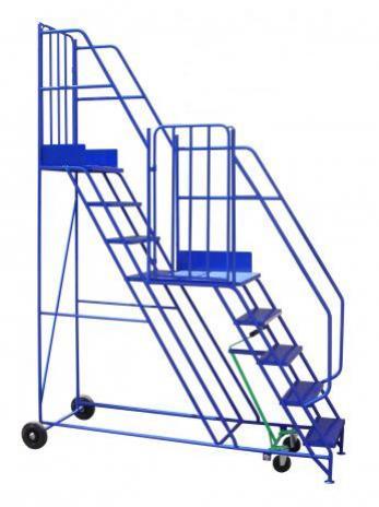 Split Level Warehouse Steps Warehouse Ladder