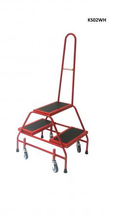 Double Sided Steps Warehouse Ladder