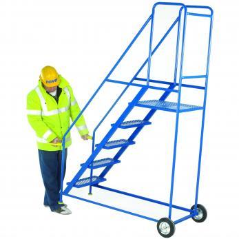 Tilt and Go Warehouse Ladders Warehouse Ladder