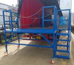 Heavy Duty Mobile Lorry Access Platform 2000kg