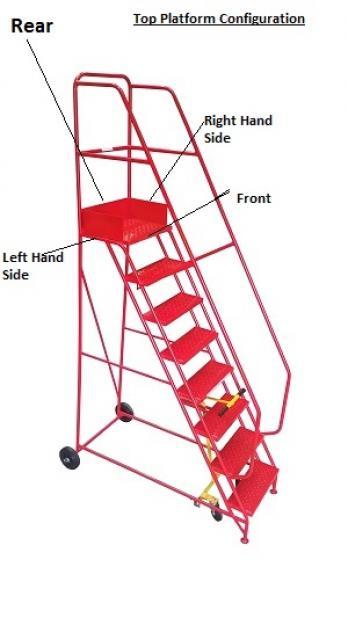 Lightweight Steps - 500mm - KL02DM Warehouse Ladder