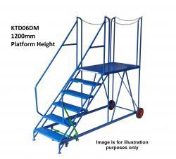 Klime ezee Truck Dock Step - 2600x1080x2700 - KTD08DM