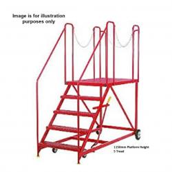 Steptek Truck Dock Mobile Work Platform - 2370x960x2250 - S683