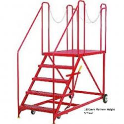 Steptek Truck Dock Mobile Work Platform - 1680x960x1680 - S680
