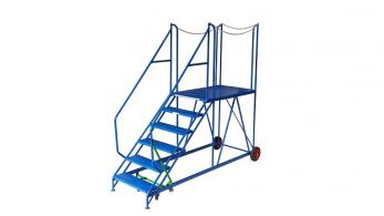 Klime ezee Truck Dock Step Warehouse Ladder