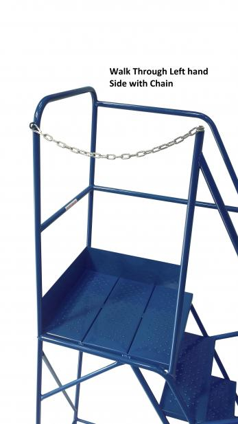 Extra Wide Warehouse Ladders - 700mm Wide Tread Warehouse Ladder